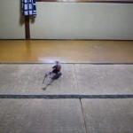 SOLO PRO 228のグリスを塗った後の室内飛行