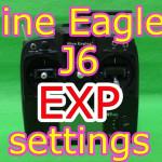 Nine Eagles J6送信機のエクスポ設定方法