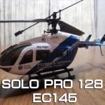 SOLO PRO 128 EC145の箱だしぶっつけ本番フライト