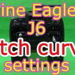 Nine Eagles J6送信機のピッチカーブの設定方法