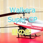 Walkera Super CPの昼の飛行練習