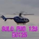 空に映えるSOLO PRO 128 EC145