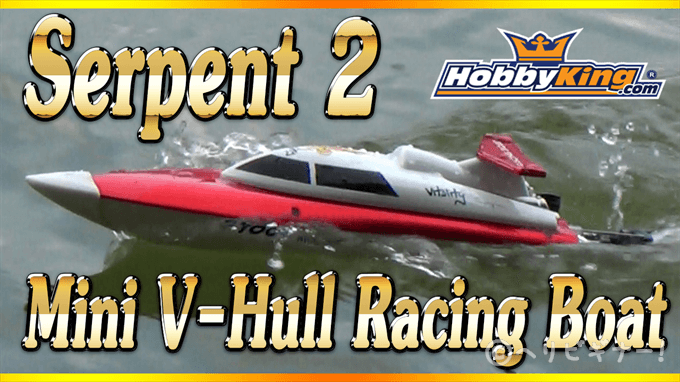 Serpent 2 Mini V-Hull Racing Boat_R
