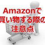 Amazonでラジコンパーツを買う際の注意点