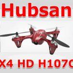 Hubsan X4 HD H107Cのレビュー